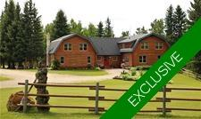Agricultural Acreage w/ Log House for sale, Water Valley, Alberta: 5 bedroom 3,023 sq.ft. (Listed 2019-09-05)