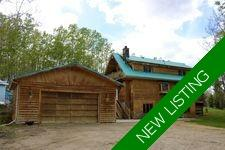 Log House for sale, Water Valley, Rural Mountain View County Country Residential acreage: 3 bedroom 1,537 sq.ft. (Listed 2020-03-19)