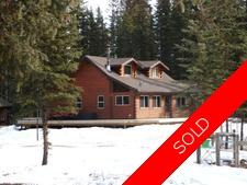 Acreage on the Red Deer River, 20.88 Acres w/ LOG House for sale: Mountain View County, Country Residnetial 1 bedroom 1,411 sq.ft. (Listed 2016-03-07)